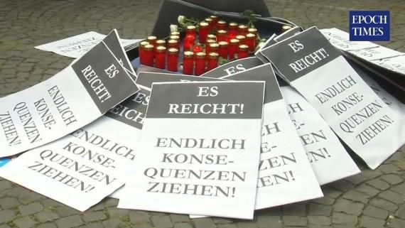 «Кровь моей дочери – на руках Меркель»